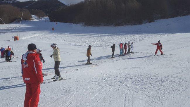 Vive les joies du ski
