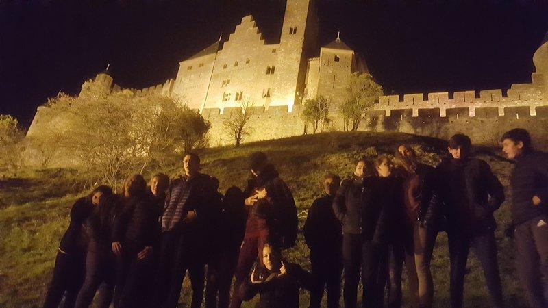 Visite de Carcassonne la nuit